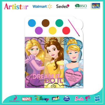 DISNEY PRINCESS colouring set