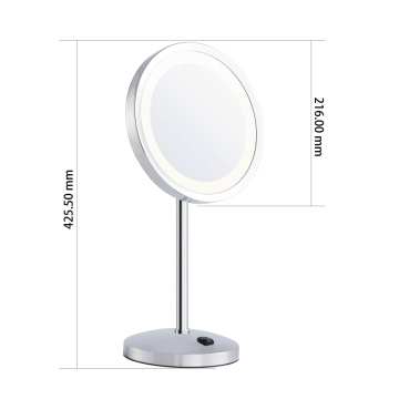 Circular Single side Vanity table mirror