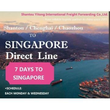 Shantou/Chenghai/Chaozhou to Singapore Direct Line