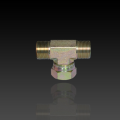 Hydraulic Adaptor BB BSP Fittings Swivel Nut Tee