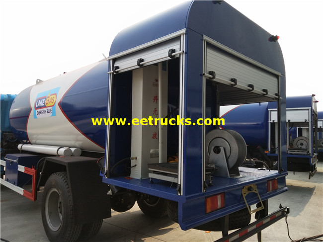 25cbm LPG Dispensing Trucks