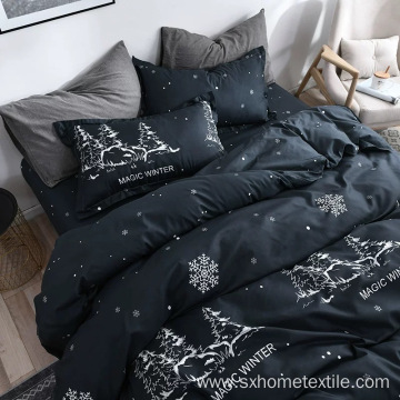 printed duvet sheet set