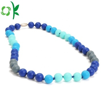 2019 Silicone Baby Necklace Teething Necklace for Mom