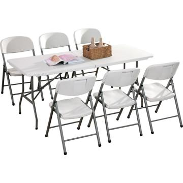 Manufacturer of lightweight mini plastic folding table for sale