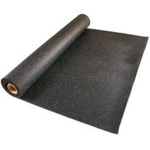 High Density Recycled Roll Rubber Gym Flooring