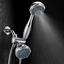Chrome 3 Control Plastic Hand Shower Head Sets