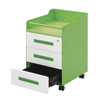 3 Drawer Steel Movable File Cabinet