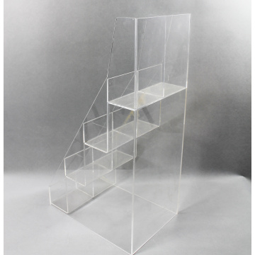 Custom Acrylic Stair Step Display Holder Stand