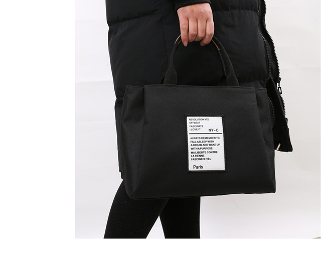 A Heavy Canvas Bag