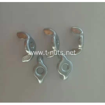 Middle steel Zinc Plated Stamping  Wing Nut