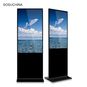 43'' floor stand digital signage lcd advertising totem