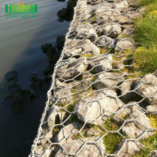 Galvanized Steel Woven Gabion Mesh for Retaining Walls