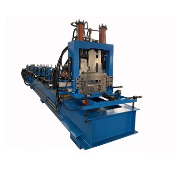 CZ Steel Purlin Integrated Roll Forming Machine