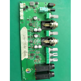Printed wire board assembly