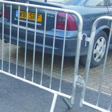 Galvanized Crowd Control Traffic Safety Barrier high quality