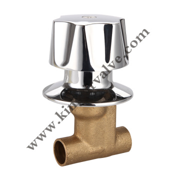 Brass shower stop valves