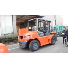 Reliable for 5.0Ton Diesel Forklift 7 Ton Forklift Truck With Tool Box export to Palestine Importers