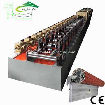 Insulated PU Slat Rolling Shutters Machine