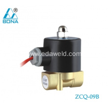 Best quality Low price for Europe Type Tube Connector Valve Brass 220V Welder Gas Solenoid Valve export to Antigua and Barbuda Suppliers