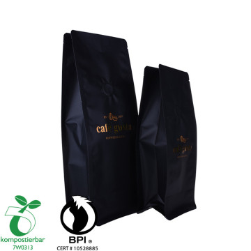 Laminated Material Round Bottom Cassava Starch Plastic Bag