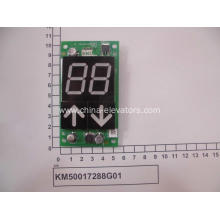 KONE LOP AVD7S Display Board KM50017288G01