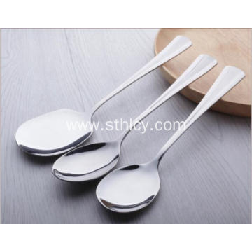 V-shaped Stainless Steel Dinner Spoon