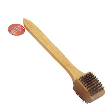 China for Bbq Cleaning Brush BBQ grill brush with wooden handle export to Portugal Manufacturer