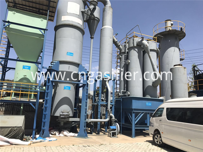 wood gasification power generation