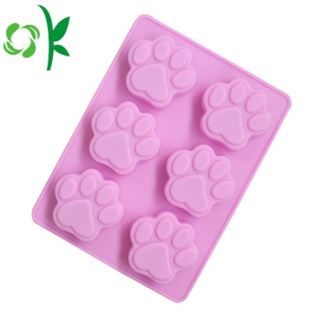 Silicone Handmade Paw 6Units Mold for Soap Making