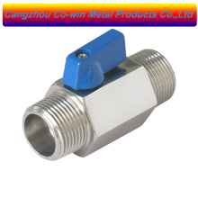 food grade stainless steel mini ball valve