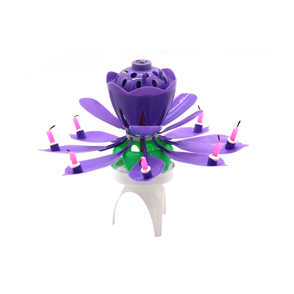 double petal candle