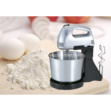 Electric home used hand mixer with bowl