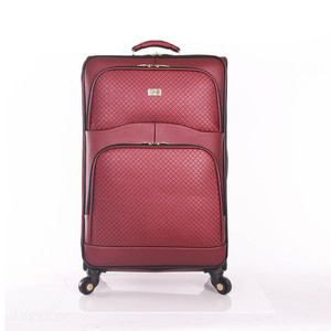 Noble and elegant red fashion luggage for lady