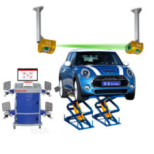 Small-scissor Lift Wheel Alignment