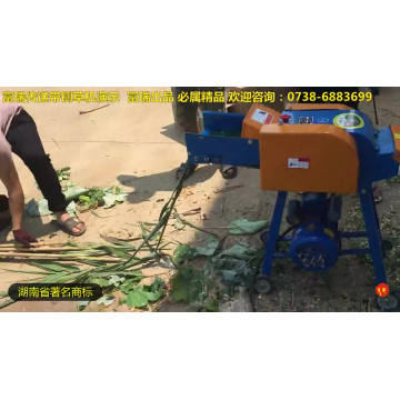 Conveyor Belt Diesel Engine Driven Chaff Cutter Machine