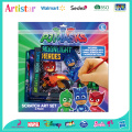 PJMASKS scratch art pad
