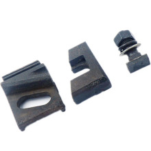 China Professional Supplier for Cast Iron Pulley Wheels, Cast Iron Pipe Clamps, Excavator Bucket Teeth Manufacturers and Suppliers in China Iron Cast Railway Fastening Clamp export to Japan Manufacturers