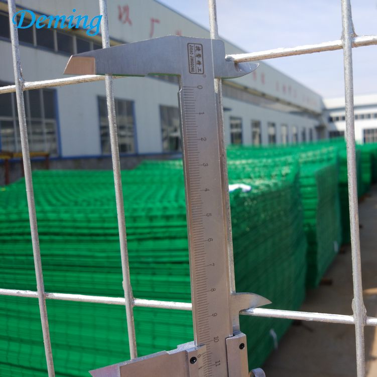 Factory Removable 2.9m Canada Galvanized Fence Temporary