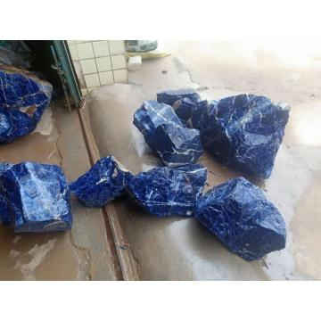 Semi precious blue sodalite small blocks