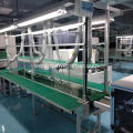 Fully Automated Small Motorized Belt Conveyor Assembly Line
