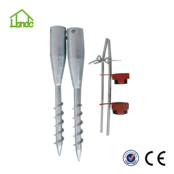 Helical Pile Screw Stakes For Foundation System