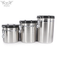 Airtight Coffee Bean Container co2 Valve Airscape Canister