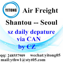 Shantou Air Freight Logistics Company to Seoul