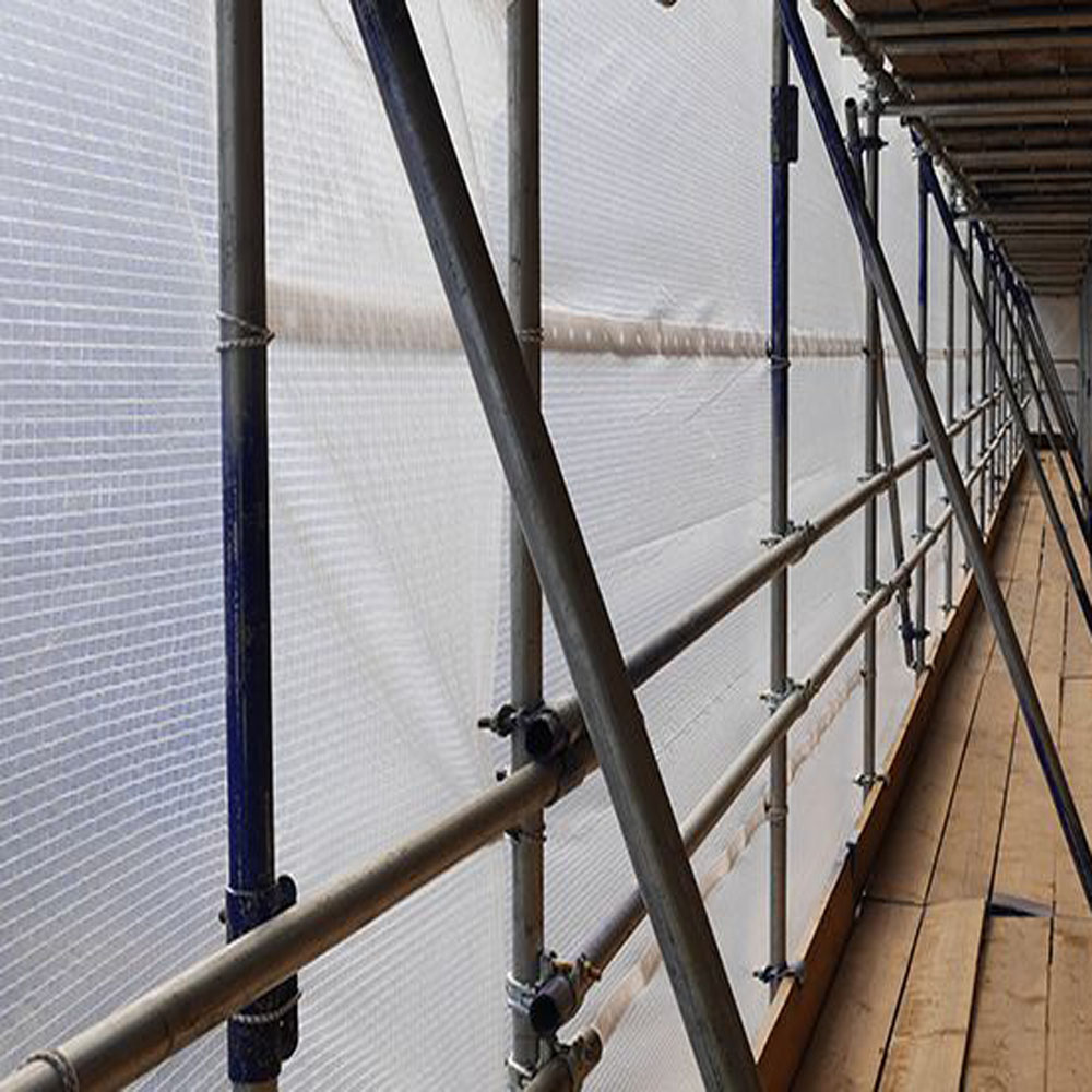 Plastic Protective Cover for Scaffold Structure