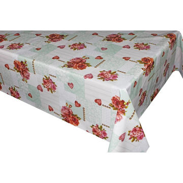 Elegant Tablecloth with Non woven backing Density