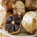 product of black garlic with multiple peels