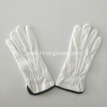 Cotton fabric grip dot palm gloves