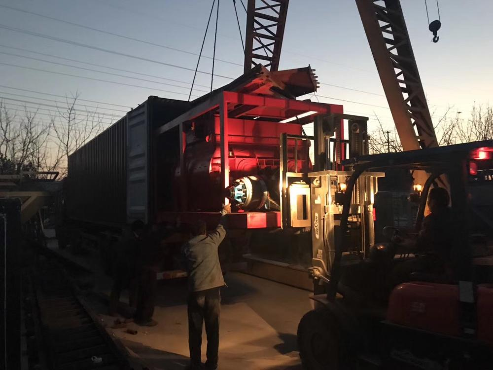 Shipment Concrete Batch Plant 02