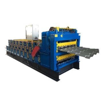 Glazed and ibr three layers automatic forming machine
