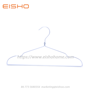 Aluminum Clothes Hanger Wth Notched AL005